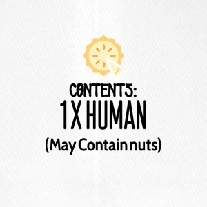 Contents for one human - Flexfit Baseball Cap