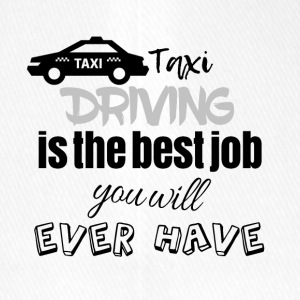 Taxi driving is the best job you will ever have - Flexfit Baseballkappe