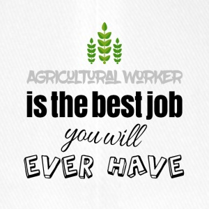 Agricultural worker is the best job you will have - Flexfit Baseballkappe