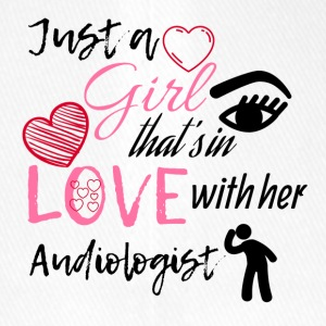 Just a girl that's in love with her audiologist - Flexfit Baseballkappe