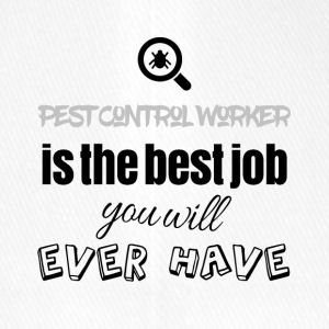 Pest Control Worker is the best job you will have - Flexfit Baseballkappe