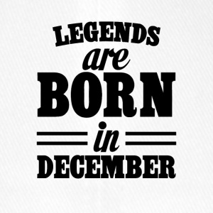 Legends are born in DECEMBER - Flexfit Baseball Cap