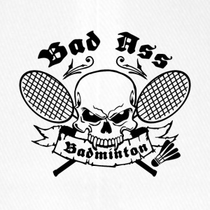 BAD ASS BADMINTON - Flexfit Baseball Cap