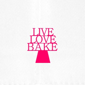 LiveLoveBake2 - Flexfit Baseballkappe