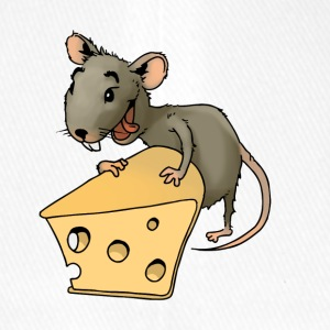 Fiese mouse rodent mouse vermin rodent cheese - Flexfit Baseball Cap