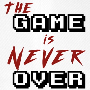 The game is never over - Flexfit Baseball Cap