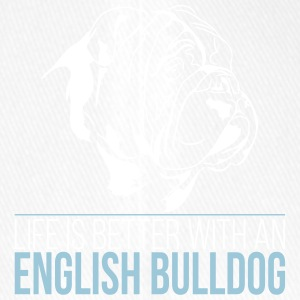 LIFE IS BETTER ENGLISH BULLDOG - Flexfit Baseballkappe