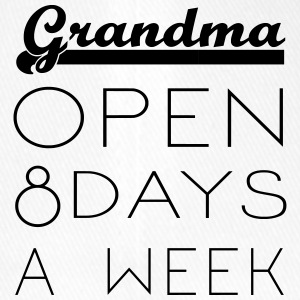 Grandma: Opening hours 8 days / week - Flexfit Baseball Cap