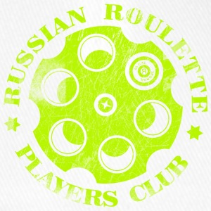 Russian Roulette Players Club Neon Vintage - Flexfit baseballcap