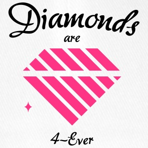 Diamonds are 4-Ever - Flexfit Baseballkappe