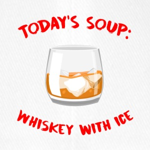 Whiskey - Today´s Soup: Whiskey with Ice - Flexfit Baseballkappe
