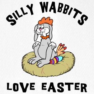 Easter Silly Wabbits Love Easter - Flexfit Baseball Cap