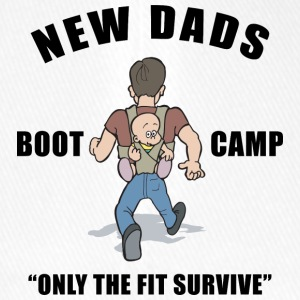 New Dad Boot Camp Only The Fit overleve - Flexfit baseballcap