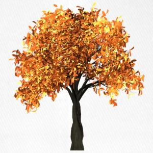 Beautiful tree with yellow leaves - Flexfit Baseball Cap