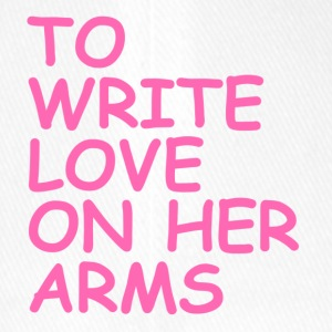 to write love on her arms hot pink - Flexfit Baseballkappe