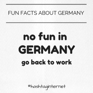 fun facts about Germany no fun in Germany go back - Flexfit Baseball Cap