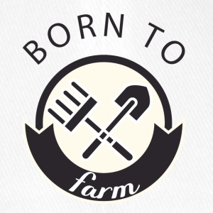 Farmer / bonde / Farmer: Born To Farm. - Flexfit baseballcap