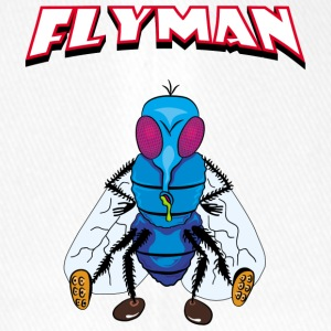 Fly Man - Cappello con visiera Flexfit