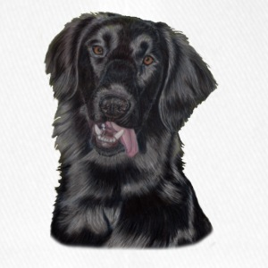 Flat coated retriever - Flexfit baseballcap
