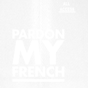 PARDON MY FRENCH - Flexfit baseballcap