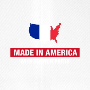 Made In America With French Parts France Flag - Flexfit Baseball Cap