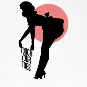 Vintage Girl - Touch Your Toes! - Casquette Flexfit