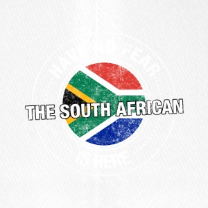 Have No Fear The South African Is Here Shirt - Flexfit Baseball Cap