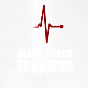 Heart Attack Survivor - Flexfit Baseballkappe