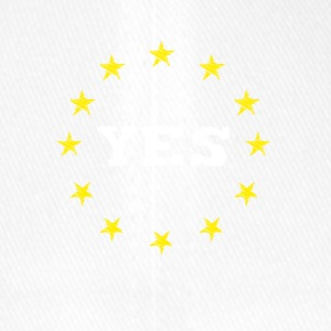yes Europe EU Europe love no Proposed referendum on United Kingdom membership of the European Union euro national demo - Flexfit Baseball Cap