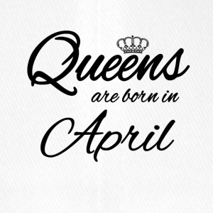 Queens Born April Geburtstag Birthday Prinzessin - Flexfit Baseballkappe