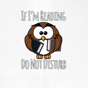 Wenn ich lese Do Not Disturb, Bücher T-Shirt - Flexfit Baseballkappe