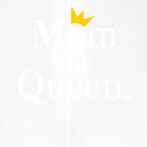 Mom the Queen Tshirt, Gift for Mom on Mother's Day - Flexfit Baseballkappe