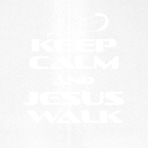 KITESURFING - KEEP CALM AND JESUS WALK - Flexfit Baseballkappe