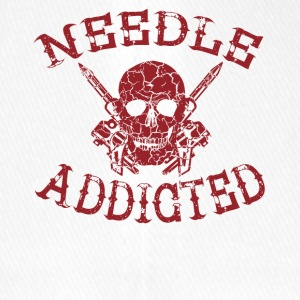 Needle addicted shirt tattoo tattooed - Flexfit Baseball Cap