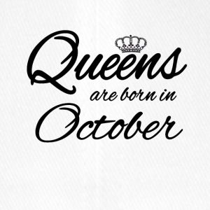 Queens Born October Princess Birthday Birthday - Flexfit Baseball Cap