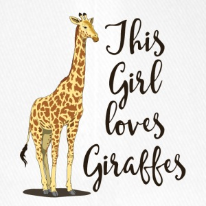 I like giraffes v2 - Flexfit Baseball Cap