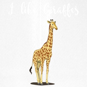 I like giraffes v4 - Flexfit Baseball Cap