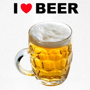 I Love Beer - Flexfit baseballcap