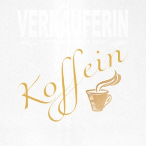 Verkäuferin powered by Koffein - Flexfit Baseballkappe