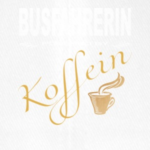 Busfahrerin powered by Koffein Shirt - Flexfit Baseballkappe