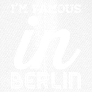 im famous in berlin white - Flexfit Baseball Cap