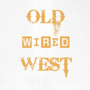 Old wired west - Flexfit Baseball Cap
