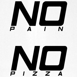 No pain no pizza - Flexfit baseballcap