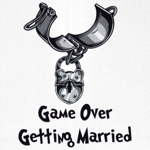Game Over Getting Married - Flexfit Baseball Cap