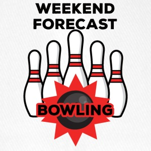 Bowling / Bowler: Weekend Previsioni Bowling - Cappello con visiera Flexfit