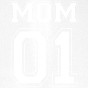 MOM 01 - White Edition - Flexfit basebollkeps