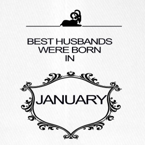 BEST HUSBAND WERE BORN IN JANUARY - Flexfit Baseball Cap