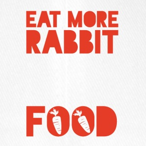 Veggie / Vegan: Eat more Rabbit Food - Flexfit Baseballkappe