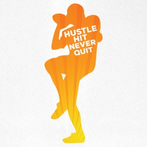 Football: Hustle frappé Never Quit - Casquette Flexfit