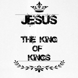 JESUS THE KING OF KINGS - Flexfit Baseball Cap